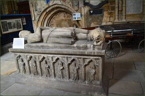 Tomb Effigy Howden Minster