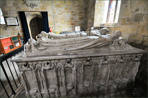 Neville Tombs, Church of St Mary the Virgin, Staindrop